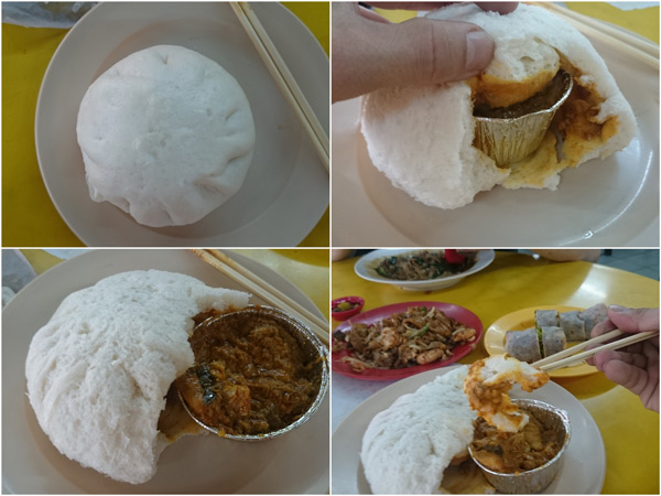 the curry chicken pao is actually huge, good for a full meal