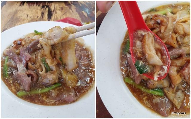 ngau hor (beef noodle), perfectly executed