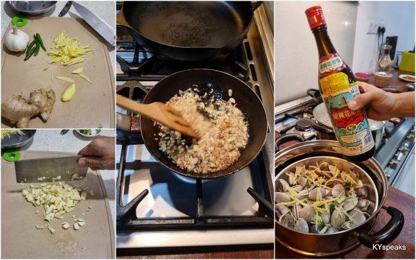 garlic, ginger, and cilipadi are crucial