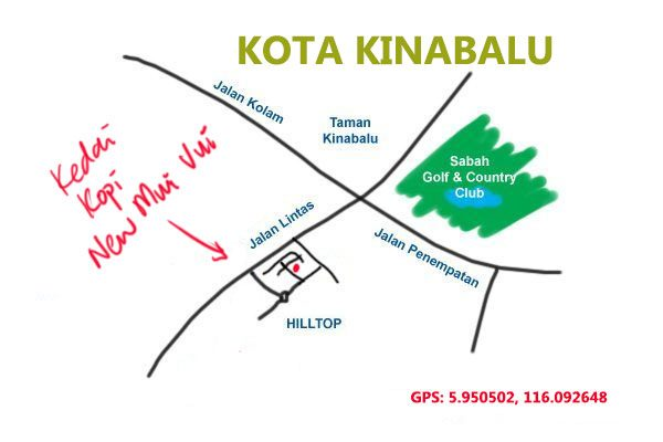 map to new mui vui, Kota Kinaabalu