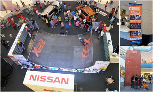 Nissan Livina X-Gear event at Sunway Pyramid