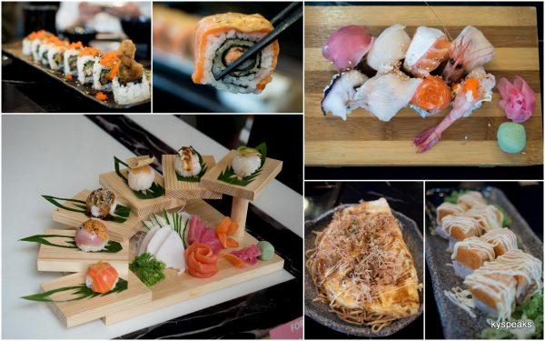 Fortune Sushi & Sashimi Platter, maki
