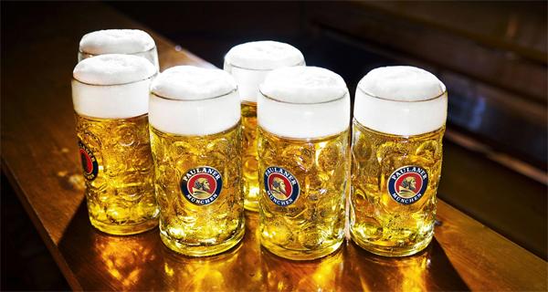 official Paulaner Oktoberfest Bier
