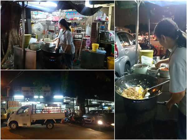 char kuih teow stall at PJ Old Town, outside Soon Lee kopitiam