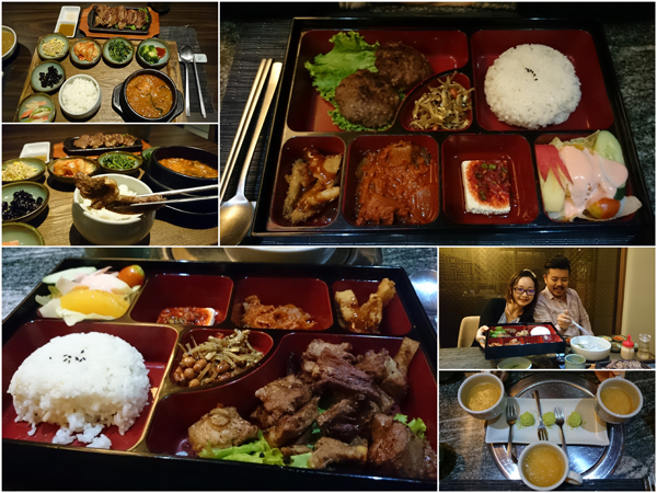 lunch sets starts at around RM 20 upwards, with plenty to choose from