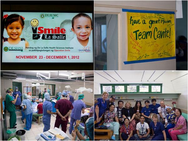 mission at De La Salle hospital, Cavite