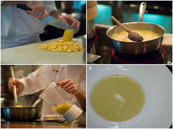 Sweet Corn &amp; Basil Soup - using Panasonic Blender and Induction Cooker