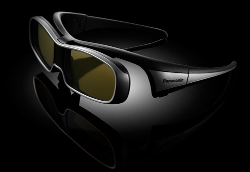 stylish Panasonic 3d glasses