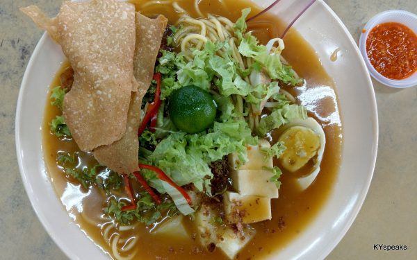 Jawa Mee is basically a Chinese version of Mee Rebus