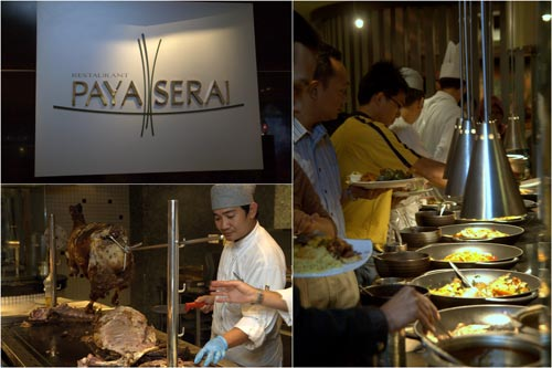 buffet spread at Paya Serai, PJ Hilton