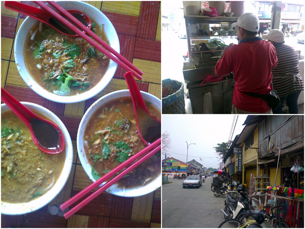 famous Balik Pulau laksa near the market