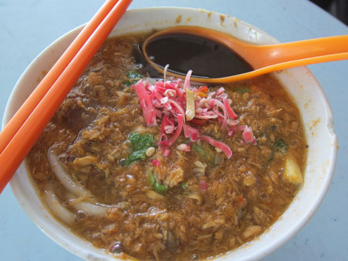 wholesome penang laksa