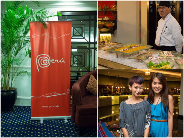 Peruvian Gastronomic Week at Ritz Carlton - Joyce & Jamie