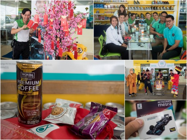 did you grab your free coffee this CNY balik kampung season?