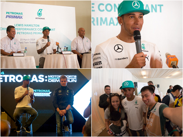 Lewis Hamilton introduced as PETRONAS Primax's Technical Performance Consultant