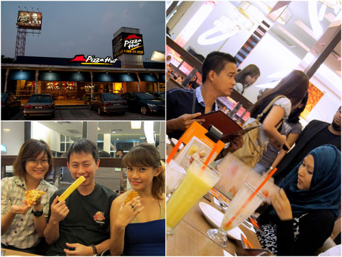 Pizza Hut at Kota Damansara, Kim, KY & Haze + others