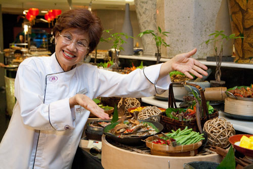 Guest chef Florence Tan at Paya Serai, PJ Hilton