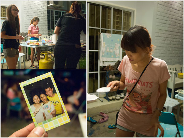 instax pic with my sister, the niece, and me. =D