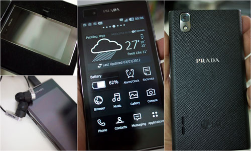 Prada LG 3.0, powered by Android, I'm using it now!