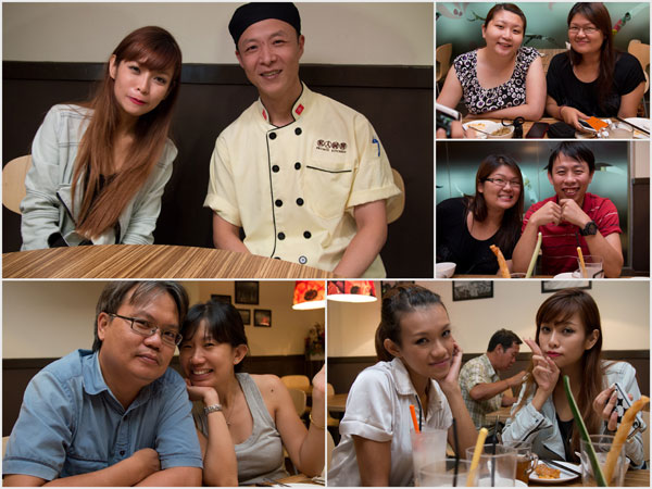 Cheesie, chef Lam Fai, Suanie, Joyce, Dennis &amp; Evelyn, Haze