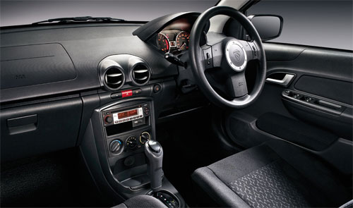 interior of Proton Saga FLX