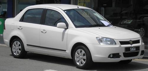 Proton Saga BLM front shot