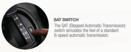 Proton Saga FLX's SAT Switch