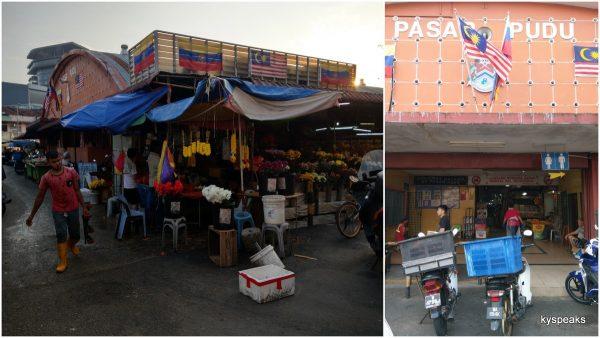 Pudu wet market, KL