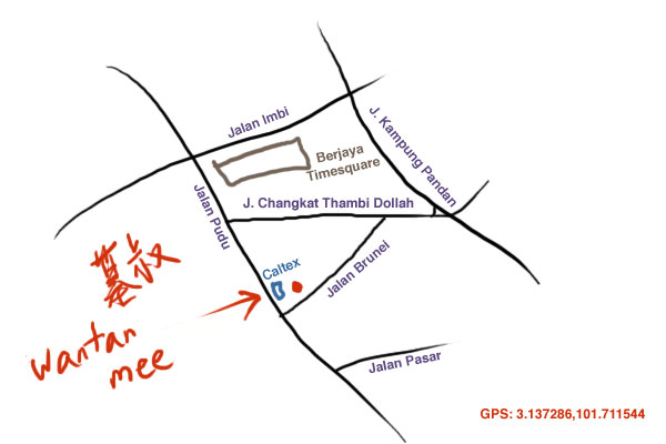 map to Pudu