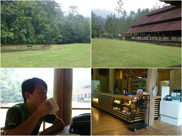 Tanarimah at Janda Baik, love the tranquillity by the lake