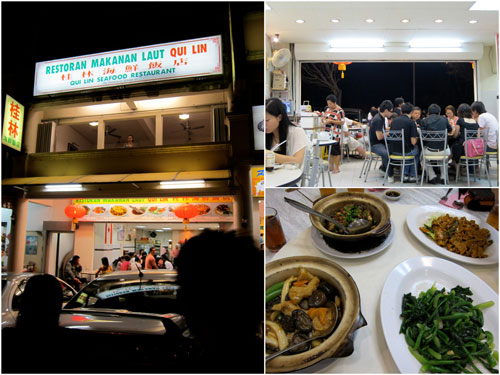 Qui Lin seafood restaurant
