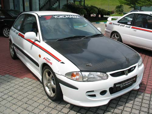Proton Satria R3 with SSO Body Kit