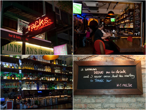 Racks at Changkat Bukit Bintang
