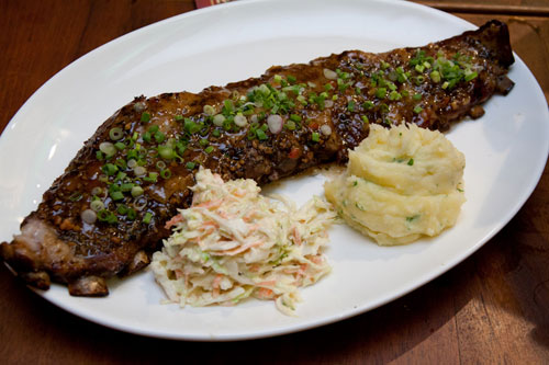 marmalade sweet and spicy pork ribs