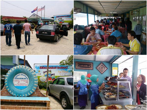 Kedah Makan Rahmat at Kampung Pasir Putih, Pasir Gudang