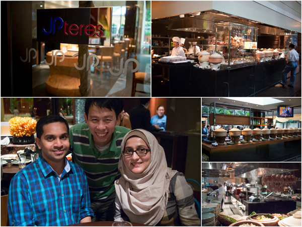 at JP Teres, Grand Hyatt KL with Rizal & Shabana