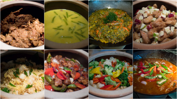 more dishes from Malay, Indian, and Chinese cuisine