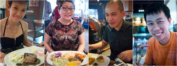 Haze, Suan, Horng, & KY at Las Vacas Jalan Yap Kwan Seng