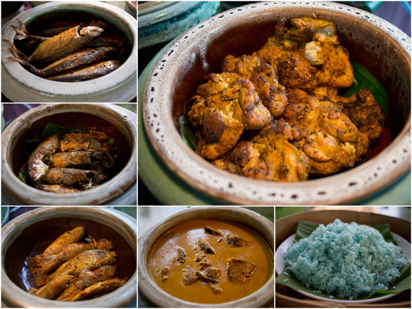 bazaar Malay and bakar stalls offering ayam percik, ikan bakar, and more