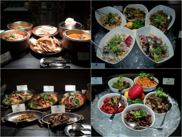 Indian & Malay cuisines, selections of salad