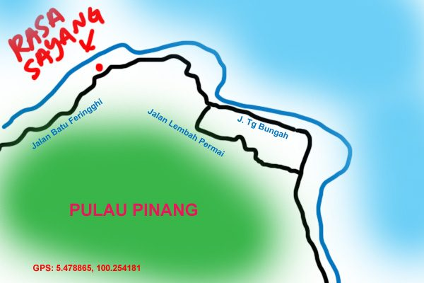map to rasa sayang