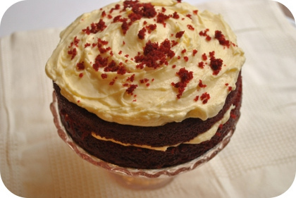 milk a deal, red velvet cake