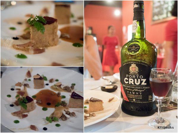 """""""Foie Gras de Canard"""", Porto Cruz Tawny"""