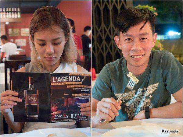 Haze & KY at Rendez-Vous, Bangsar