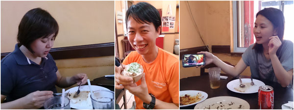 Kerol, KY, Yuki - the cendol is pretty good too