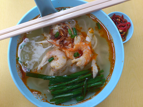 Ipoh horfun that looks and tasted like the real deal