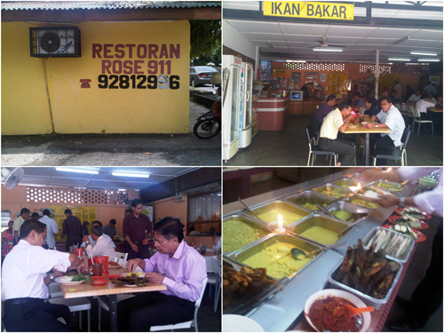 Restaurant Rose 911, authentic Negeri Sembilan food