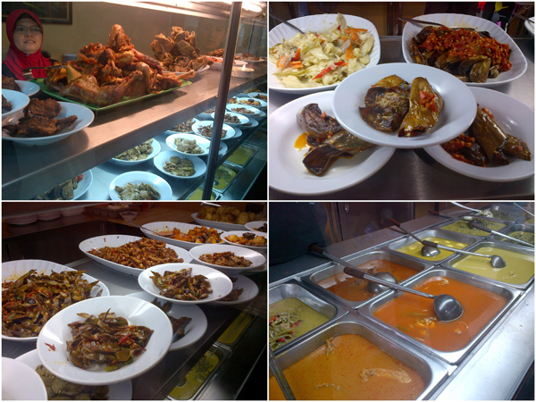 plenty of different dishes to choose from
