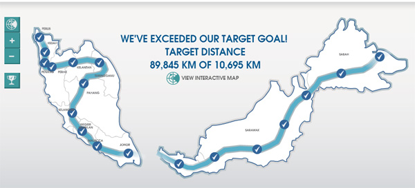 Rexona Move, exceeded target goal over 8x