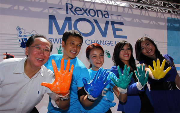 Rexona Move with Sazzy Falak and Nazril Idrus